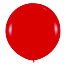 Шар (36''/91 см) Красный (315), кристалл, 10 шт.