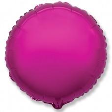Шар (4''/10 см) Микро-круг, Пурпурный, 1 шт.