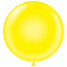 Шар (36''/91 см) Желтый, пастель, 10 шт.