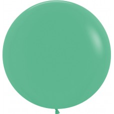 Шар (36''/91 см) Зеленый (030), пастель, 10 шт.