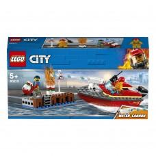 60213 Пожар в порту