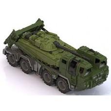 """258 Военный тягач """"Щит"""" с танком"""