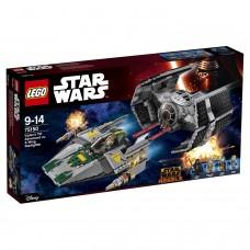 75150 Усовершенствованный истребитель СИД Дарта Вейдера против Звёздного Истребителя A-Wing