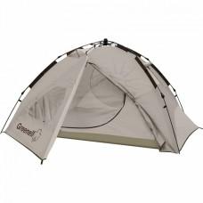 Палатка с автоматическим каркасом GREENEL ДОНГАН 4, коричневый