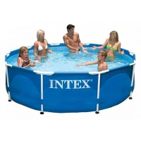 28200 Каркасный бассейн Intex METAL FRAME 305х76см