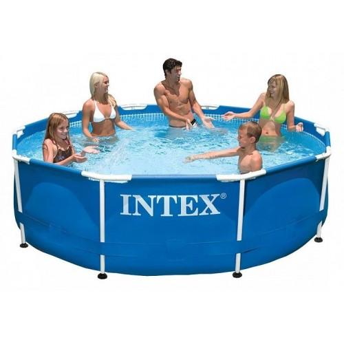28200 Каркасный бассейн Intex METAL FRAME 305х76см