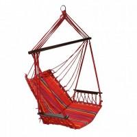 12977, Кресло-гамак HIP материал: хлопок, цвет: красная полоска