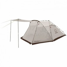Палатка с автоматическим каркасом Greenell АРКЛОУ 4, коричневый