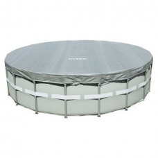 28041/57900 Тент-чехол для каркасного бассейна Ultra Frame 549см (выступ 20см) Intex