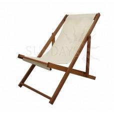 89142С Садовое кресло-шезлонг Sundays BEACH SLING, акация из Малайзии, складное