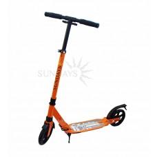 Самокат для взрослых до 100 кг, оранжевый SA-401-3