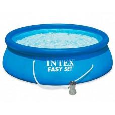 28142NP Надувной бассейн Easy Set 396x84 см+ фильтр насос Intex