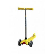 Самокат для детей 2-5 лет, желтый SA-100-2