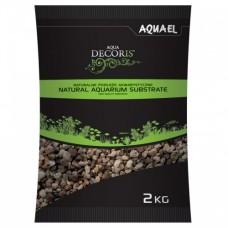 Aquael Грунт гравий натуральный 3-5 мм 2кг
