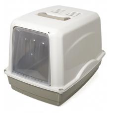 Georplast Лоток - бокс с прозрачной дверцей и фильтром Vicky (54 x 39 x 39 см), шт