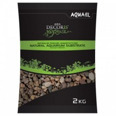 Aquael Грунт гравий натуральный 5-10 мм 2кг