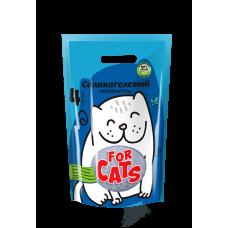 FOR CATS, силикагелевый наполнитель, 4 л.