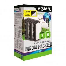 Aquael Наполнитель для фильтра FZN MINI STANDARD MEDIA PACK 3шт, шт