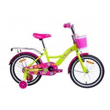 Велосипед двухколесный для детей Aist LILO 18 желтый 2019