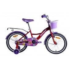 Велосипед двухколесный для детей Aist LILO 18 красный 2019