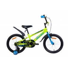 Велосипед двухколесный для детей Aist PLUTO 18 желтый 2019