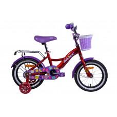 Велосипед двухколесный для детей Aist LILO 14 красный 2019