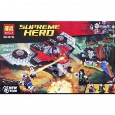 Конструктор BELA 10743 «Нападение Тазерфейса (Шокерфейса)» Аналог LEGO City 76079