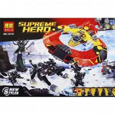 Конструктор BELA 10747 «Решающая битва за Асгард» аналога LEGO 76084