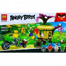 Конструктор ANGRY BIRDS Bela 10507 Кража яиц с Птичьего острова (АНАЛОГ LEGO 75823)