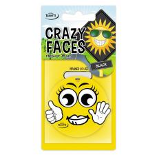 Ароматизатор Tasotti Crazy Face Блэк, бумажный