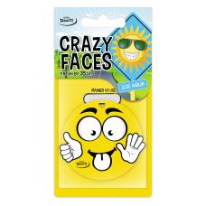 Ароматизатор Tasotti Crazy Face Ледяная вода, бумажный