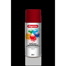 Краска красная насыщенная (265г) RAL 3002 MagicLine